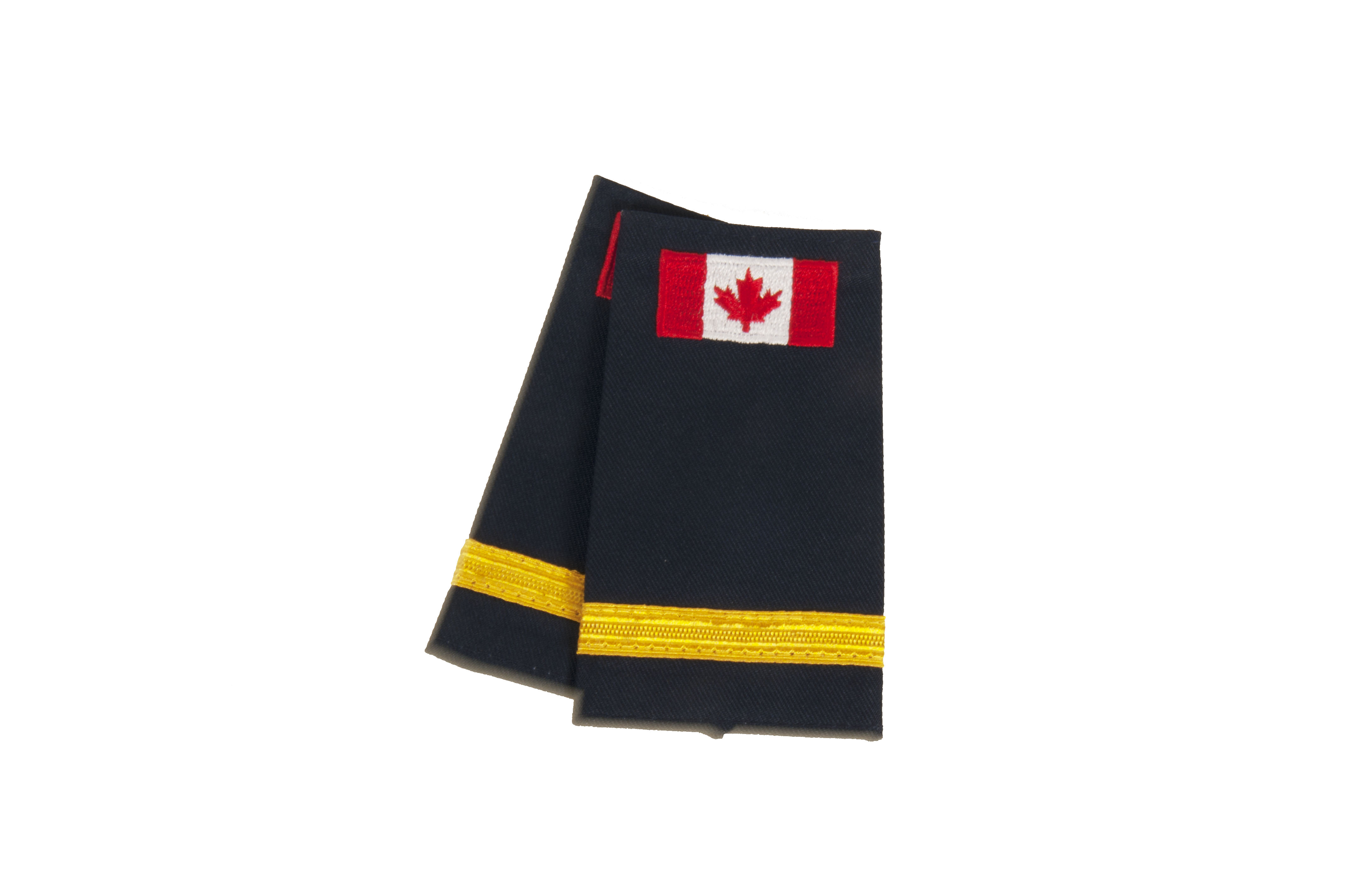 Lieutenant Slip-On with Canadian Flag (No Text)-
