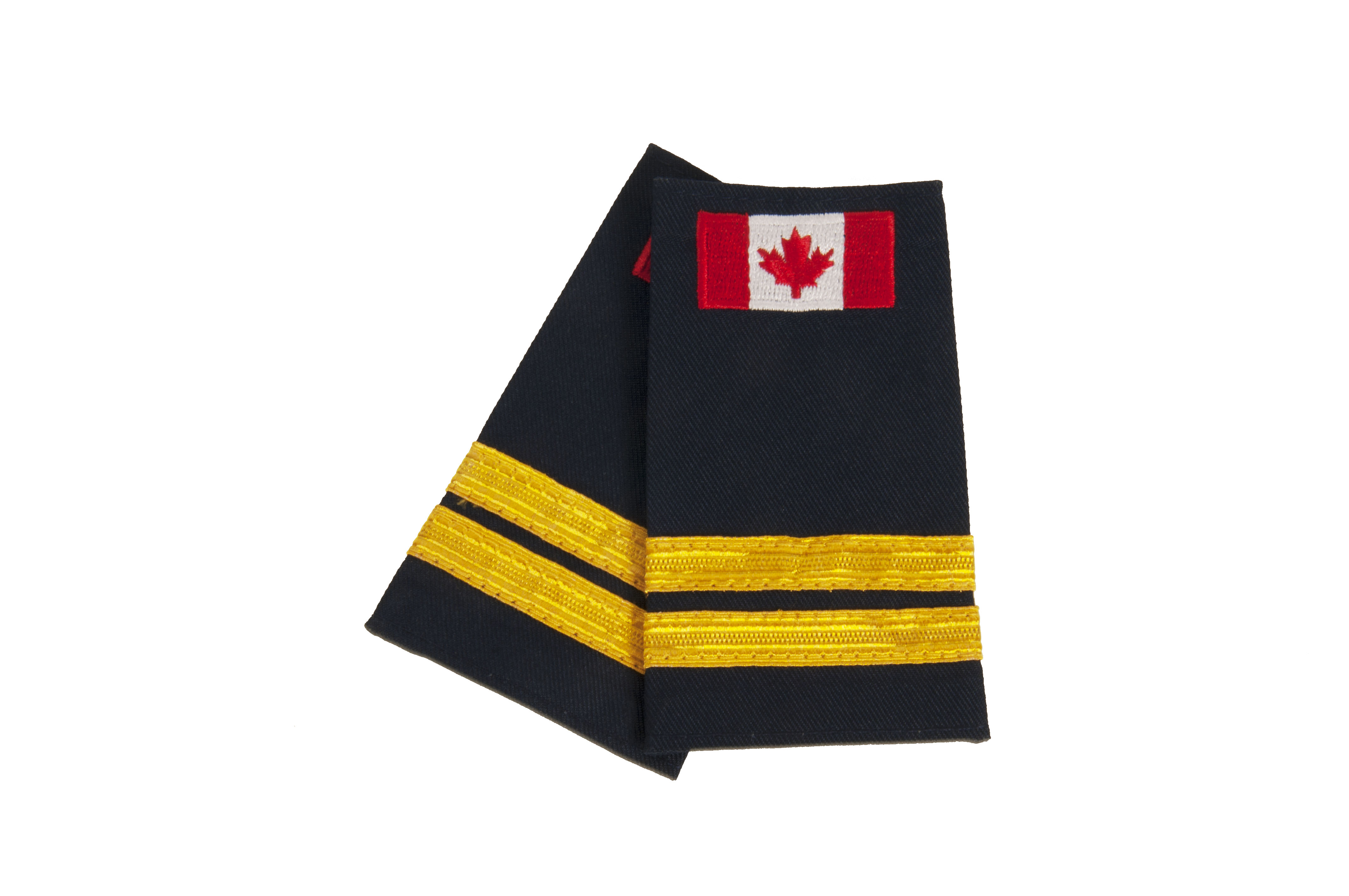 Captain Slip-On with Canadian Flag (No Text)