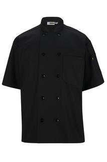 Unisex 10 Button Short Sleeve Chef Coat-