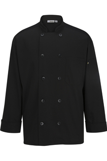 Unisex 10 Button Chef Coat With Mesh-Sawmill