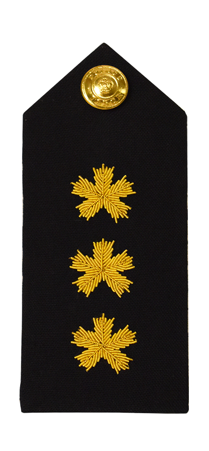 3 Bullion Shoulder Board-Derks Uniforms
