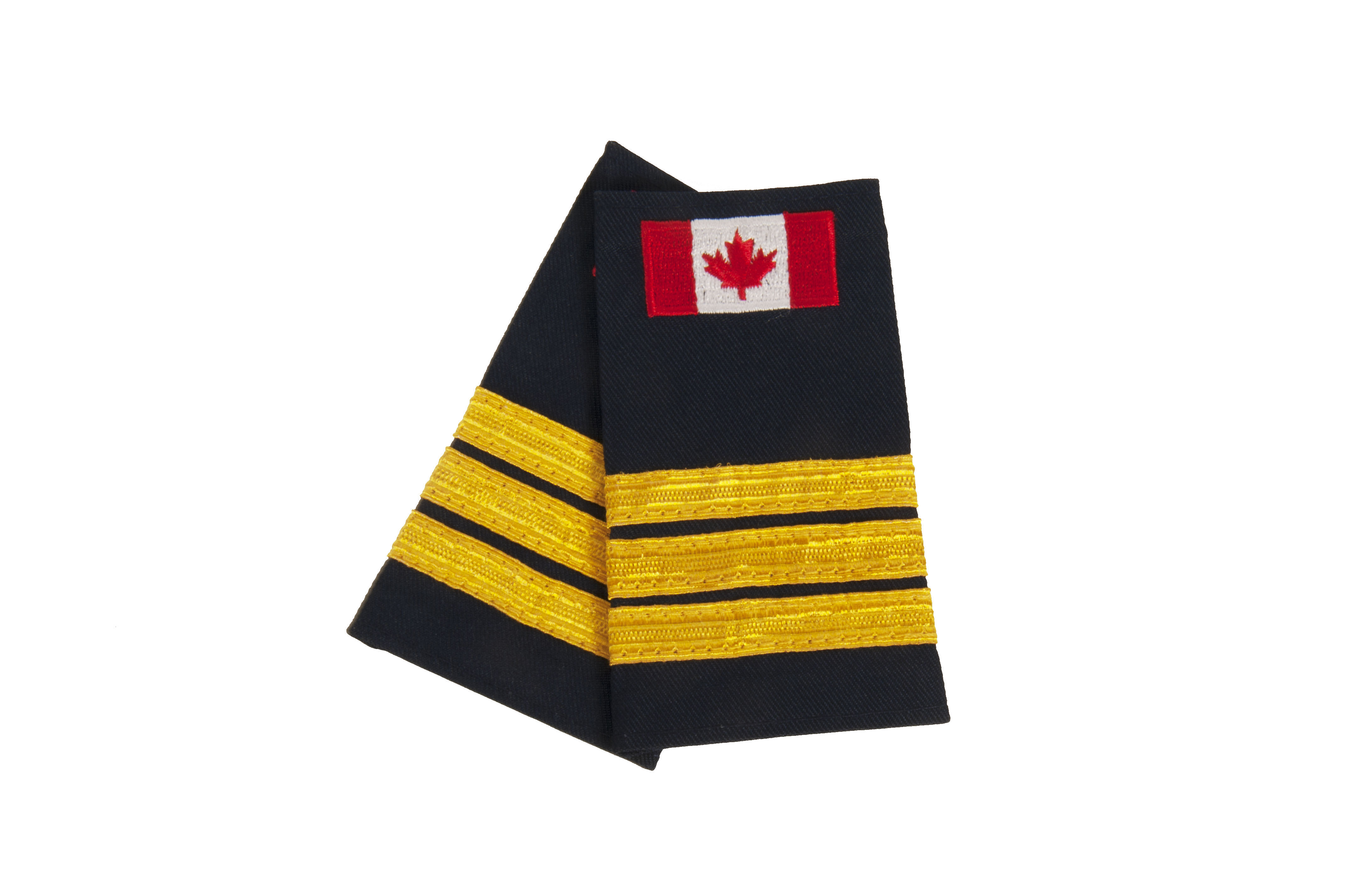 Slip-On with Canadian Flag (No Text)-Derks Uniforms