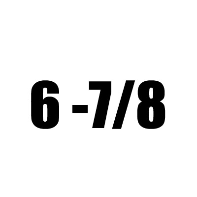 6 - 7/8