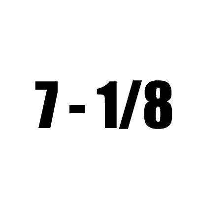7 - 1/8