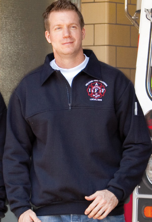The Firefighter's Zip Turtleneck-Derks Uniforms