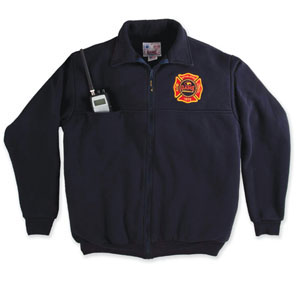 The Firefighter's Full-Zip Work Shirt-Derks Uniforms