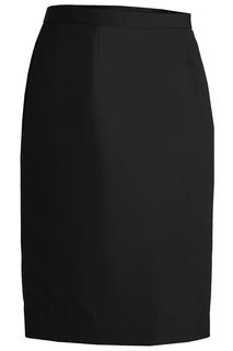Women's Polyester Straight Skirt-Sawmill