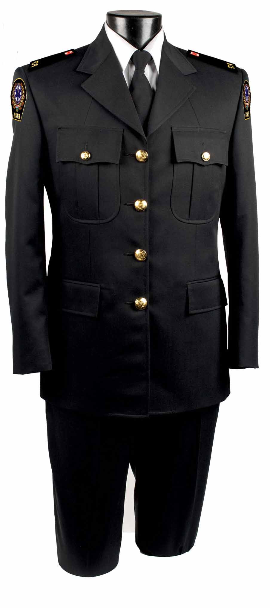 Female Four Button Single Breasted Tunic Jacket-Derks Uniforms