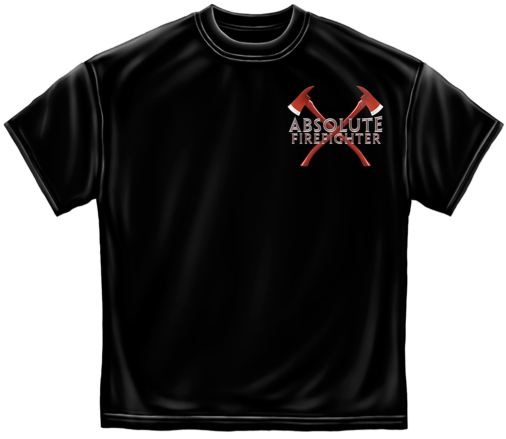 Absolute Fire Fighter T-Shirt-Derks Uniforms