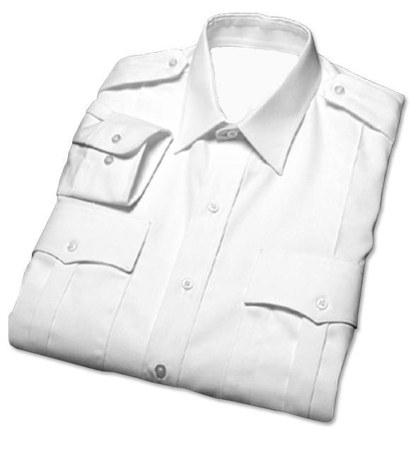 Female Military-Style Long Sleeve Duty Shirts-