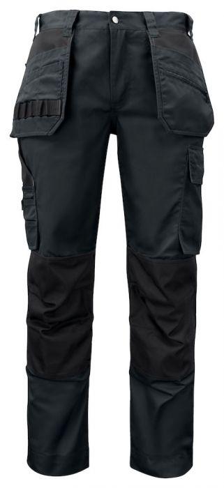 Multi-Pocket Poly-Cotton Pants-