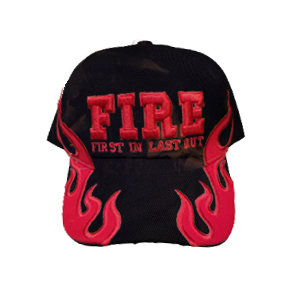 Black Fire Cap-