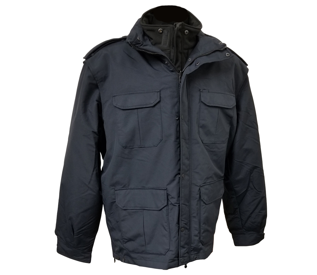 Navy Parka Jacket-