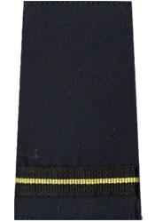 CAFC Single Gold Stripe Slip-On-