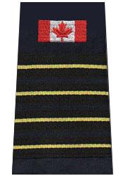 CAFC 4 Gold Stripe Slip-On With Flag-Derks Uniforms