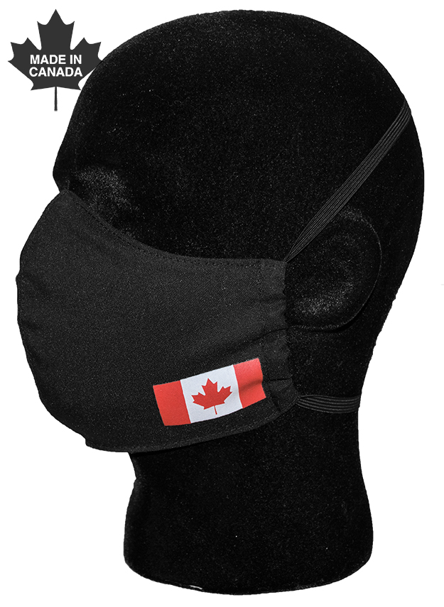Canada Flag Face Mask-Derks Uniforms