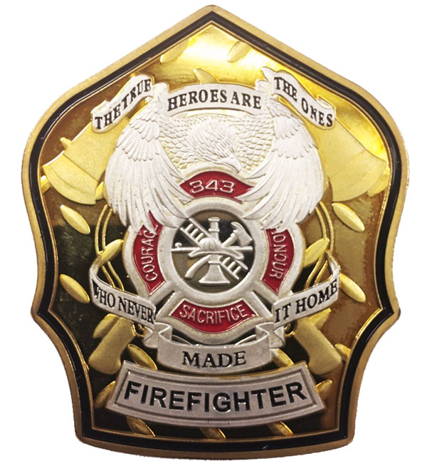Firefighter Heroes Coin-