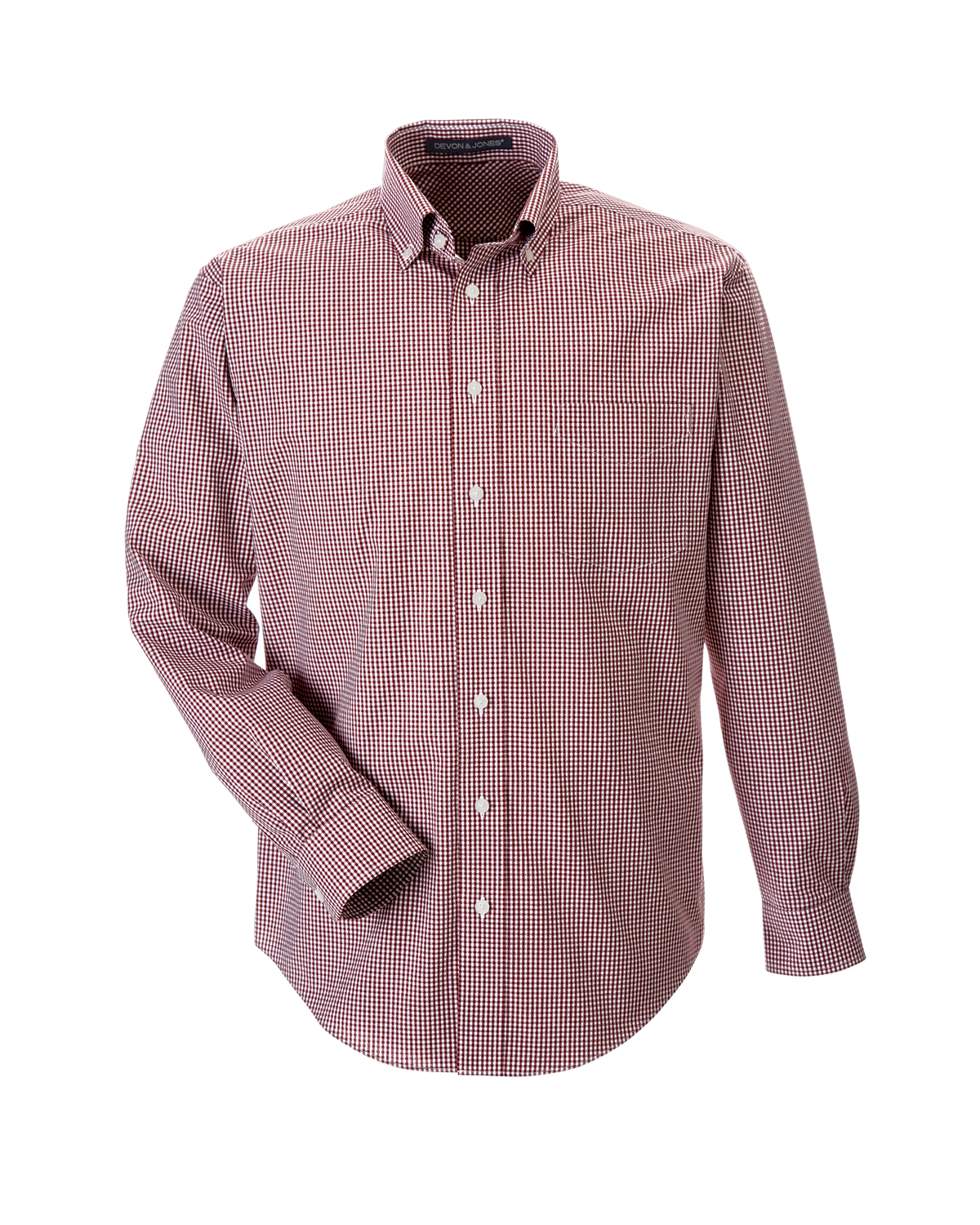Men's Crown Woven Button-Up Shirt-Sawmill