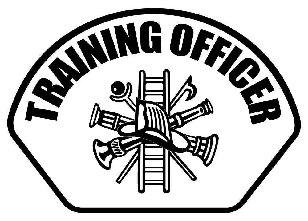 Training Officer - Front Helmet Decal-