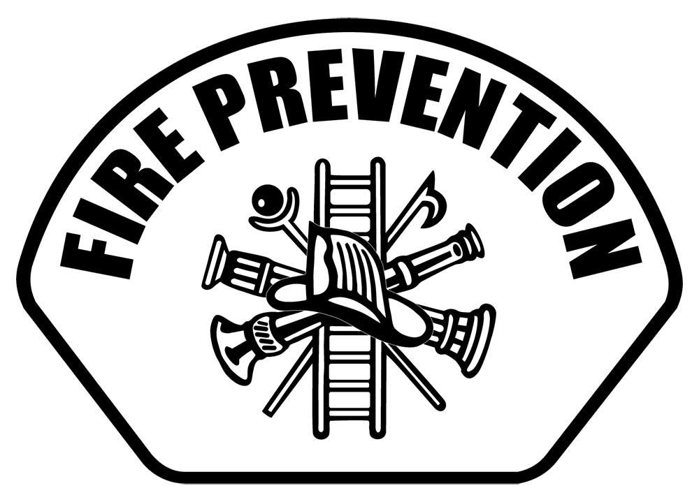 Fire Prevention - Front Helmet Decal-