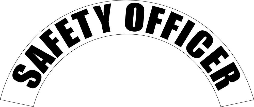 Safety Officer - Side Helmet Decal-