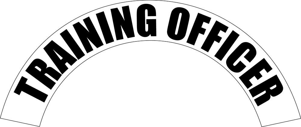 Training Officer - Side Helmet Decal-
