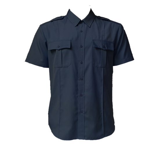 Derks Military Style Short Sleeve Duty Shirt