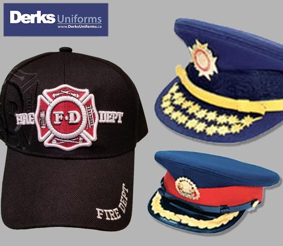 Derks Uniforms Hats