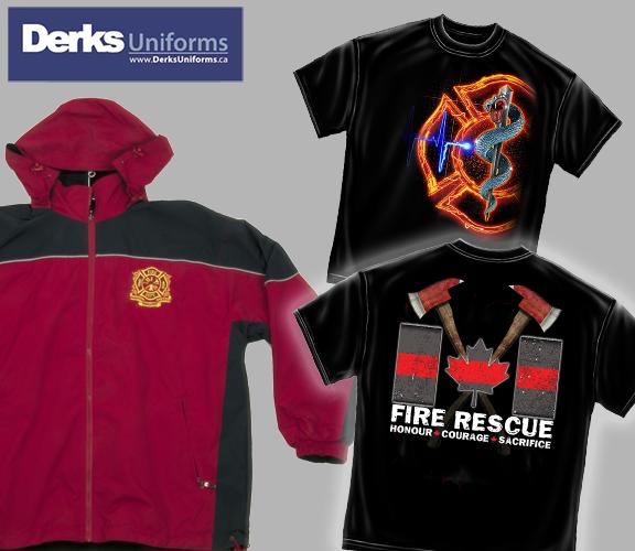 Derks Uniforms T-Shirts, Jackets & Hoodies
