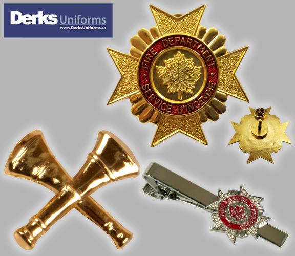 Derks Uniforms Jewelry