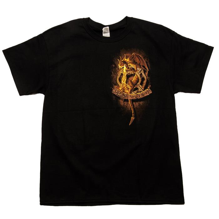 Fire Fighter Dragon T-Shirt-Derks Uniforms