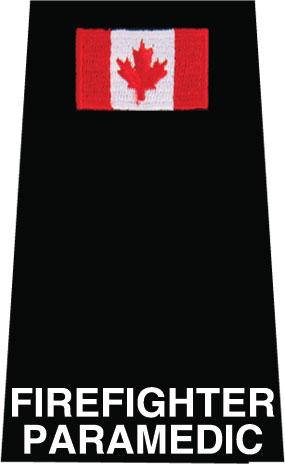 Firefighter Paramedic + Flag Slip-On-