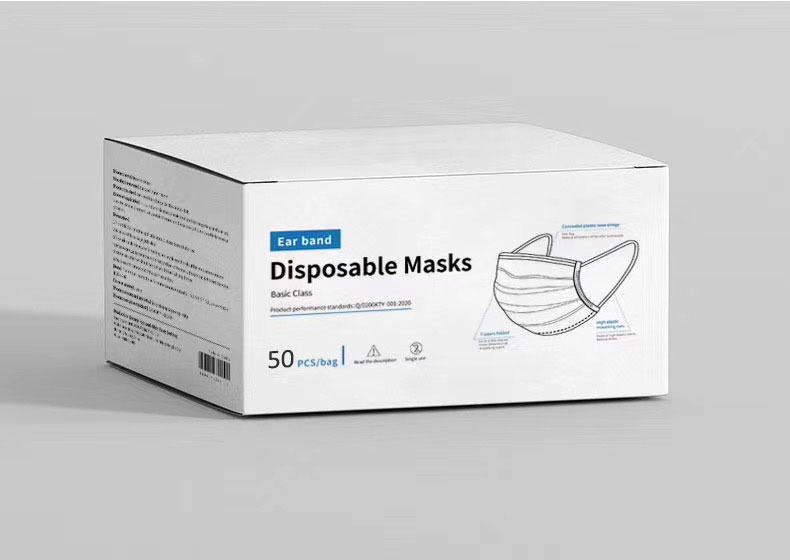 FDA Disposable Face Mask (Box of 50)-Derks Uniforms