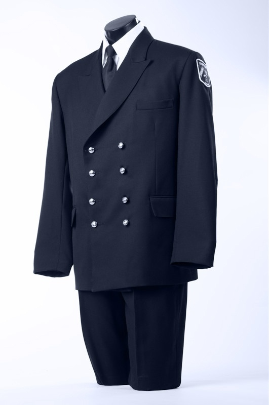 Male Eight Button Double Breasted Tunic Jacket Pant Combo-Derks Uniforms