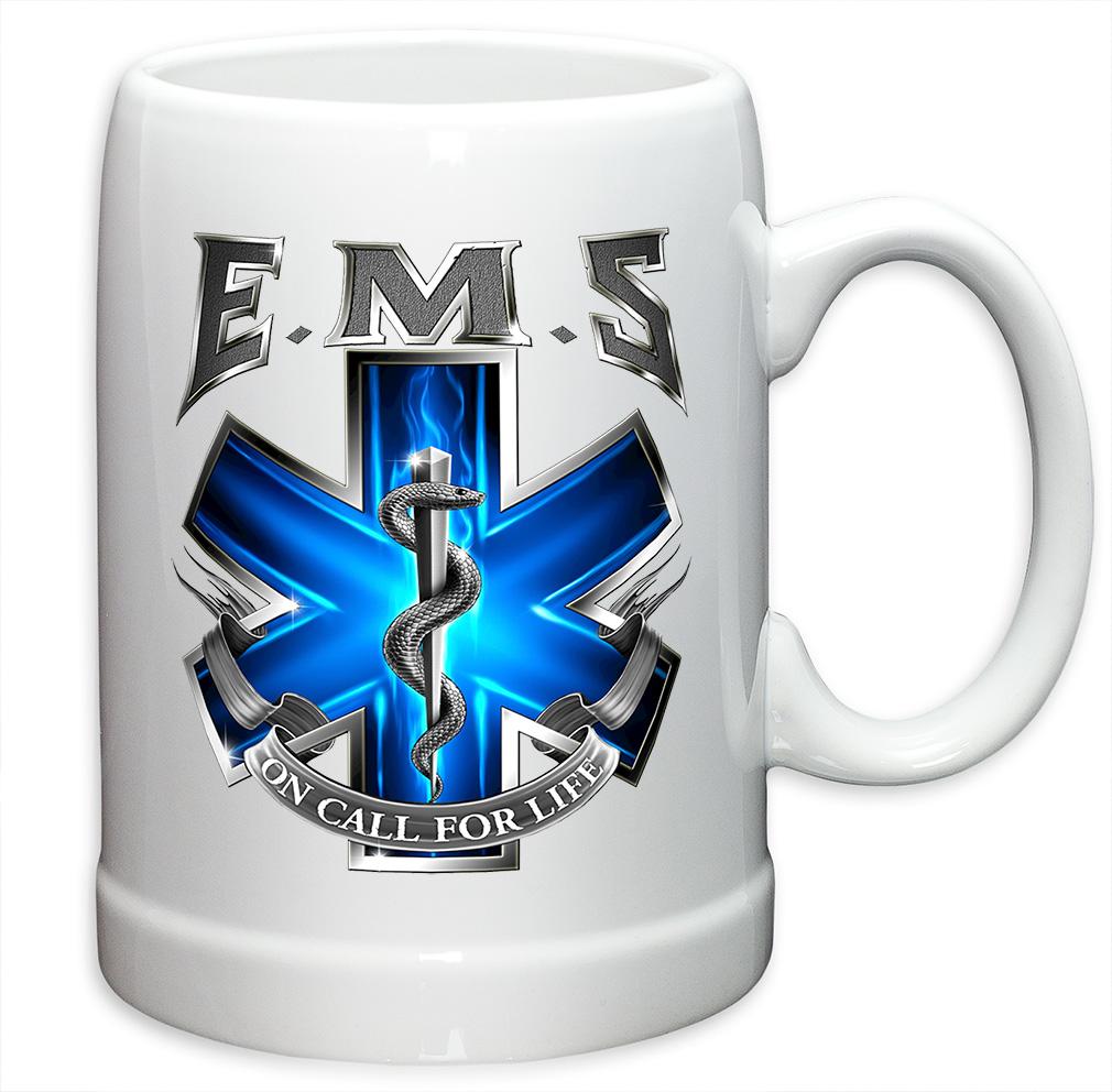EMS On Call Ceramic Mug-