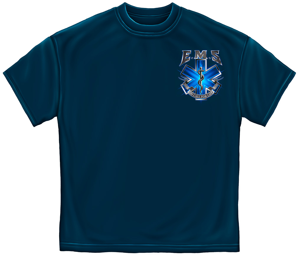 EMS On Call For Life T-Shirt-Derks Uniforms