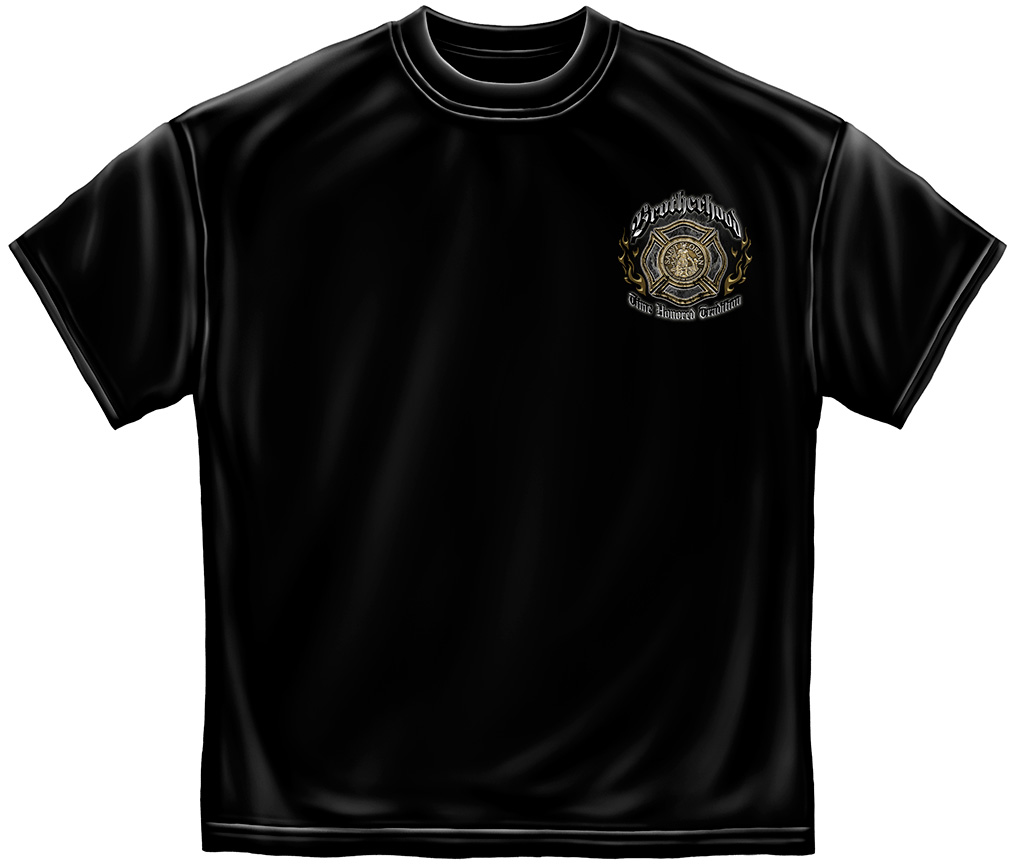 Brotherhood - Time Honored Tradition T-Shirt-Derks Uniforms