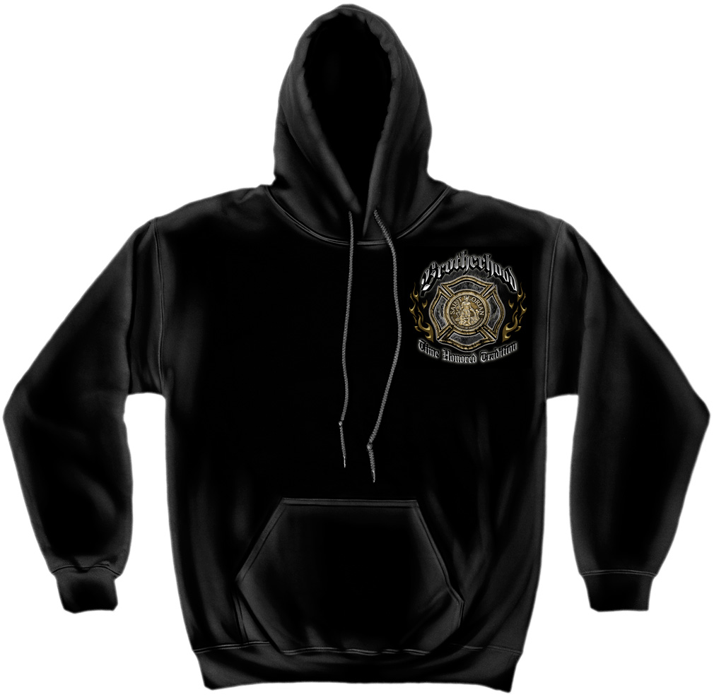 Brotherhood Time Honoured Tradition Hoodie-Derks Uniforms