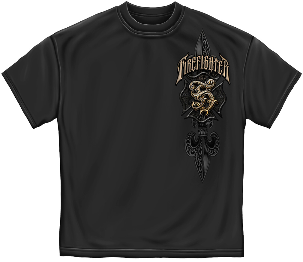 Vintage Fire Fighter T-Shirt-