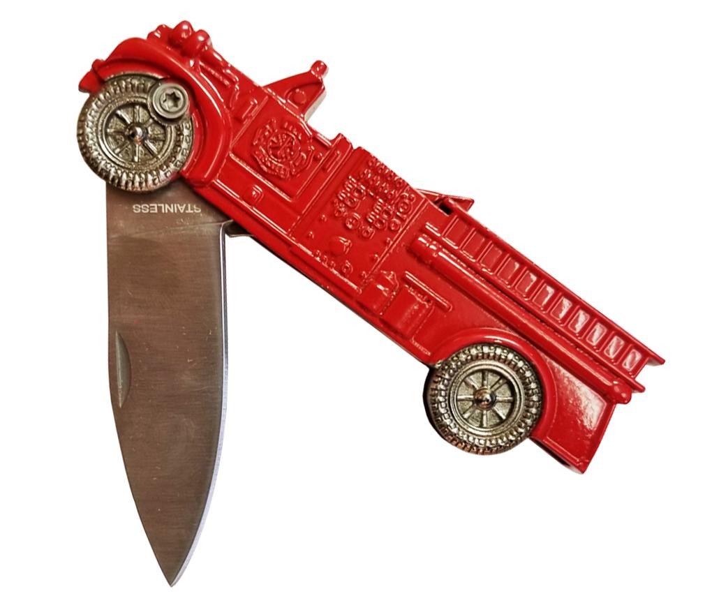 Fire Truck Utility Knife-