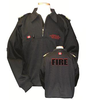 FiveStar By Derks Job Shirt-Derks Uniforms