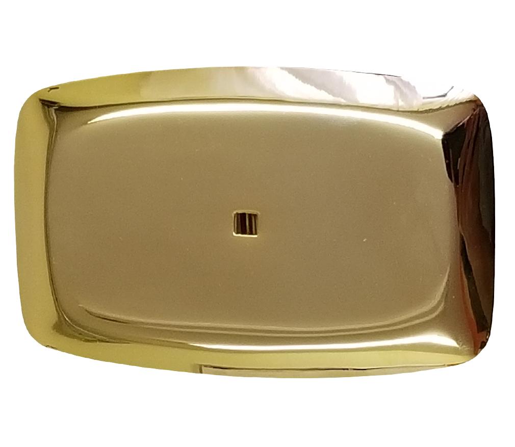 Gold Mirrored Belt Buckle-Derks Uniforms