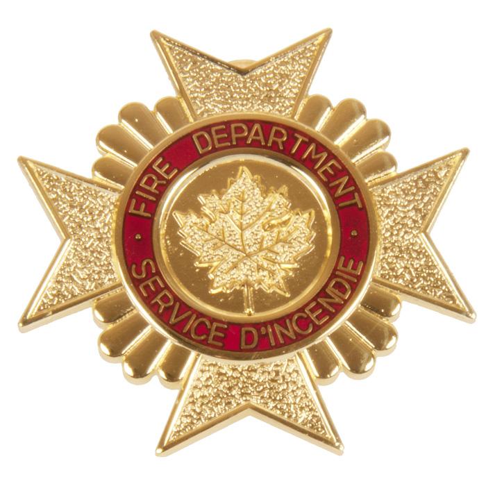 Fire Department Cap Badge
