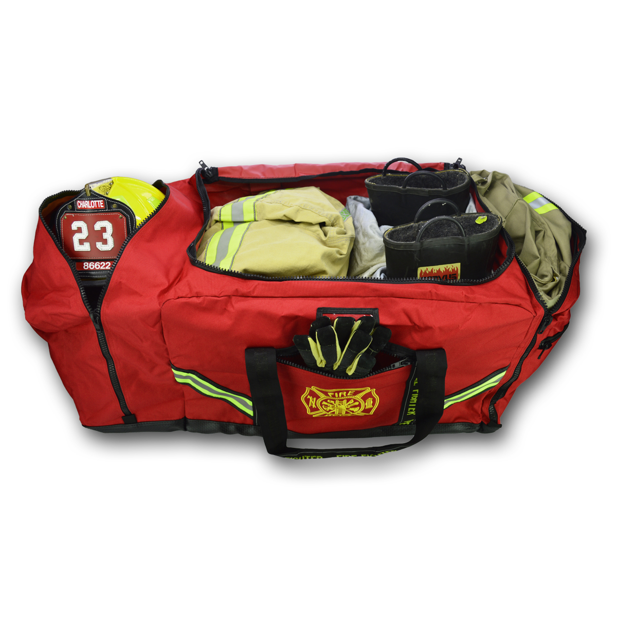 3XL Premium Turnout Gear Bag-Derks Uniforms