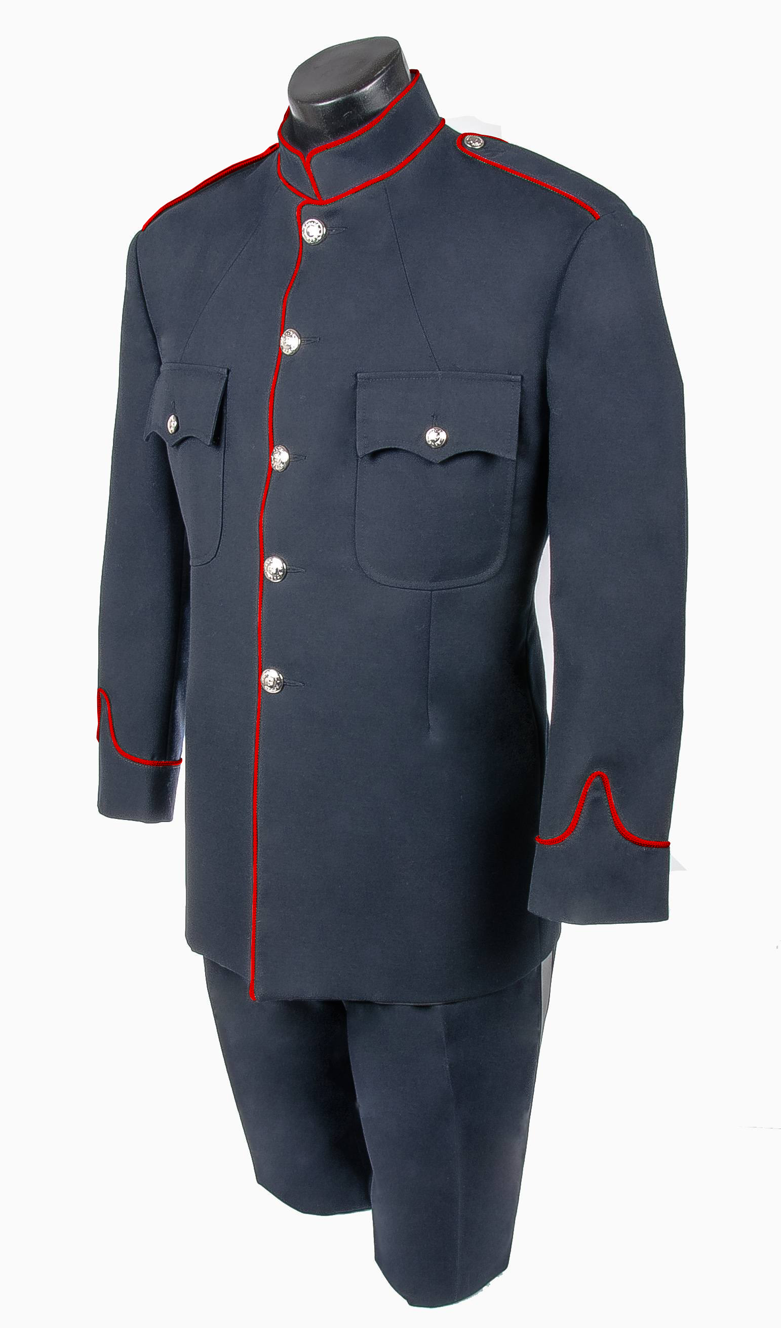 Fire Honour Guard High Collar Tunic Jacket Pant Combo-Derks Uniforms