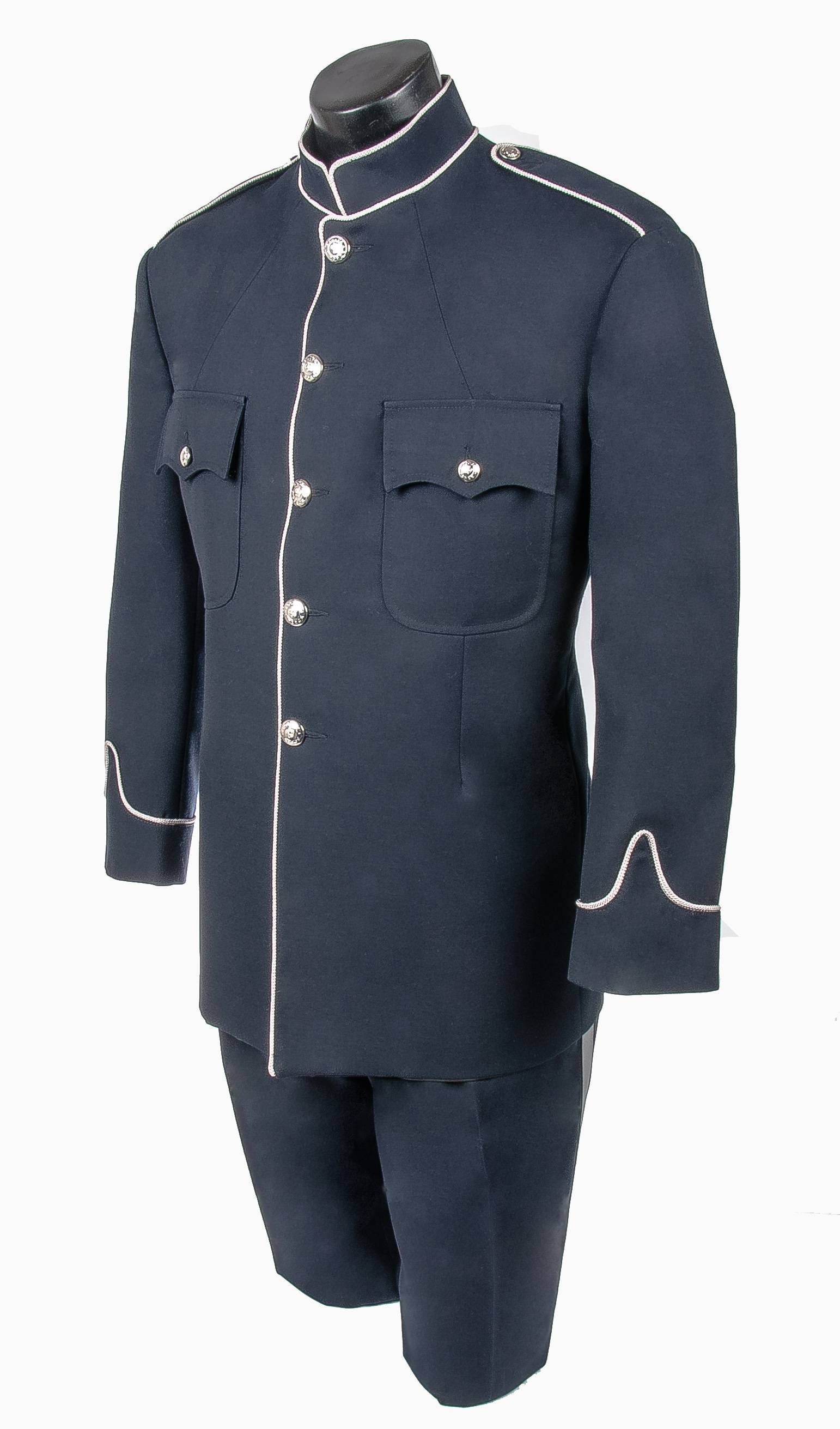 Police / Peace Officer Honour Guard High Collar Tunic Jacket Pant Combo-Derks Uniforms