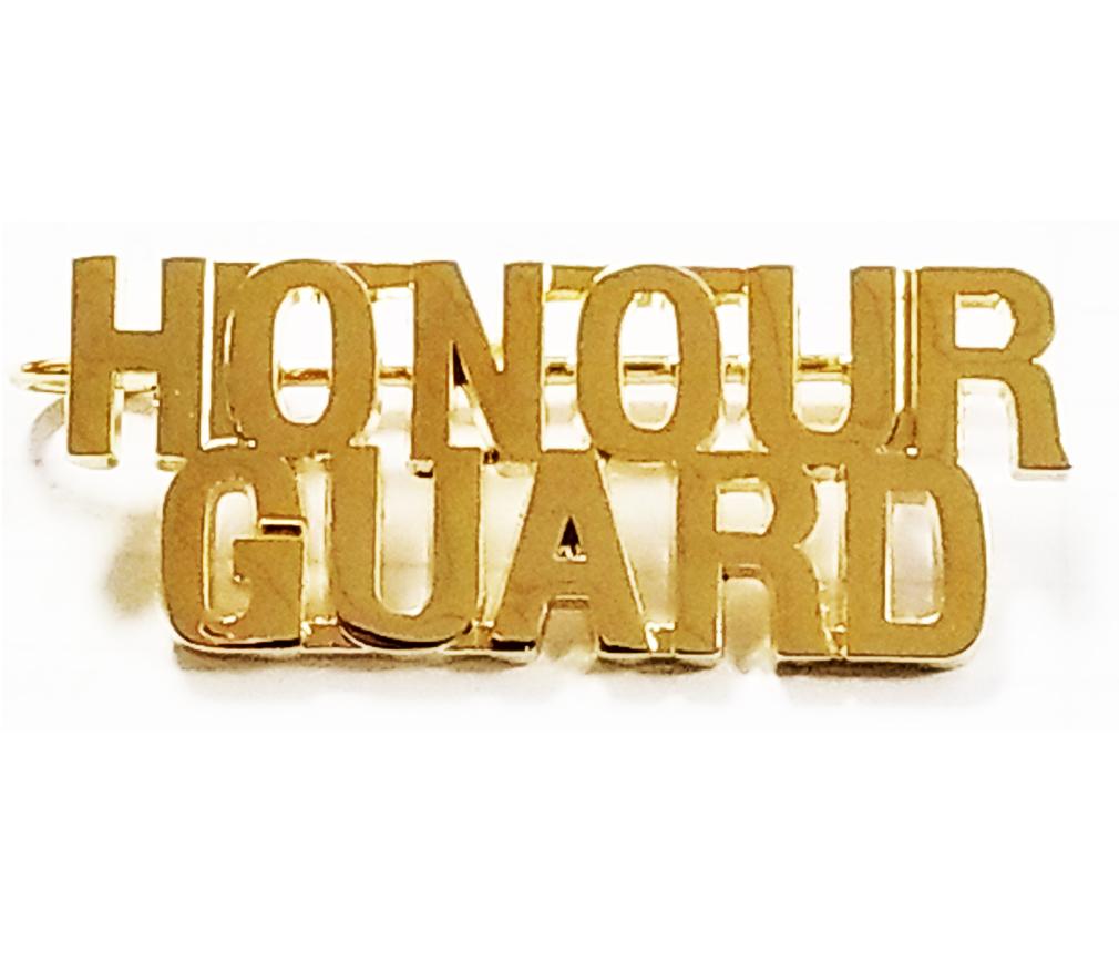 Honour Guard Name Pin-