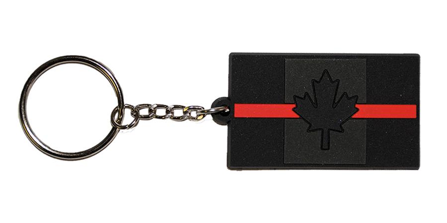 Thin Red Line Canada KeyTag-Derks Uniforms