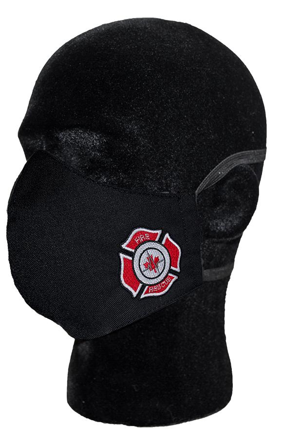 Fire Department Adult Face Mask-Derks Uniforms