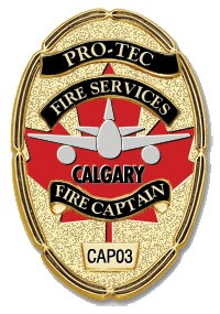 Pro-Tec Emergency Services Calgary Badge-